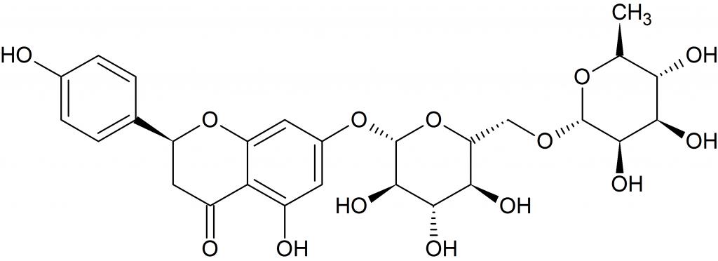 ナリルチンの構造式